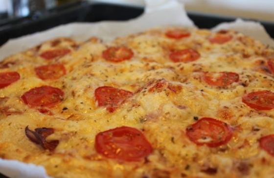 Kaldhevet italiensk pizza